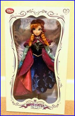 Disney Store Frozen Snow Gear Nordic Anna 17 Doll Limited Edition 5000 Princess