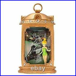 Disney Store Japan Tinkerbell Figure doll Photo Frame stand Rare Peter Pan F/S
