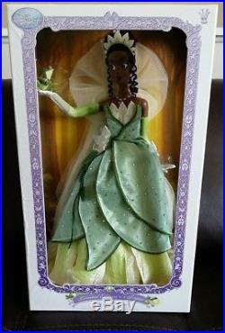 Disney Store LE Princess And Frog Tiana 17doll