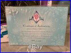 Disney Store LIMITED EDITION 17 Anna Doll Frozen Coronation