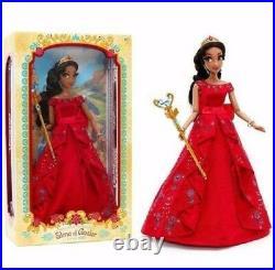 Disney Store LIMITED EDITION designer Doll Princess Elena of Avalor NEW NRFB