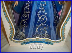 Disney Store Limited Edition 17 Sleeping Beauty Aurora Doll BLUE Dress NRFB