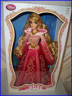 Disney Store Limited Edition 17 Sleeping Beauty Pink Aurora Doll NRFB