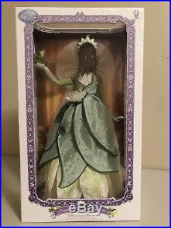 Disney Store Limited Edition 17 inch doll Princess and the Frog Tiana NEW