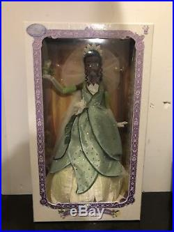 Disney Store Limited Edition 1 of 5000 The Princess and the Frog Tiana Doll