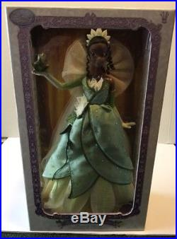 Disney Store Limited Edition 1 of 5000 The Princess and the Frog Tiana Doll 17