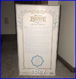 Disney Store Limited Edition 2 Doll Set MERIDA And ELINOR 17 PRINCESS Brave