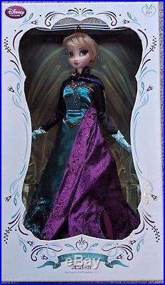 Disney Store Limited Edition Coronation Regal Elsa Doll 17 Frozen LE 5000