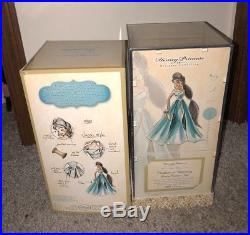 Disney Store Limited Edition Designer JASMINE Doll Princess Aladdin