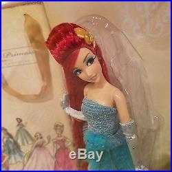 Disney Store Limited Edition Designer Princess Ariel Doll New