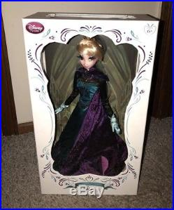 Disney Store Limited Edition Doll CORONATION Outfit ELSA 17 Frozen PRINCESS
