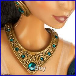Disney Store Limited Edition Doll Princess Jasmine 17 Le 5000 Aladdin Teal