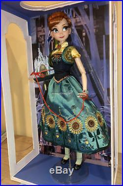 Disney Store Limited Edition Frozen Fever Anna Doll 17 Frozen Short Movie