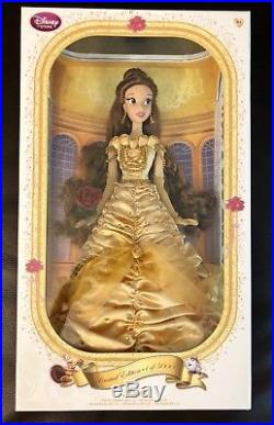 Disney Store Limited Edition Princess 17 inch doll Beauty & the Beast BELLE