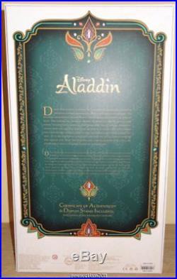 Disney Store Limited Edition Princess Jasmine Doll Aladdin 17'' # 3937