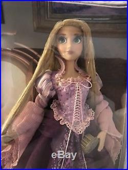Disney Store Limited Edition Purple Rapunzel Doll 17 LE Tangled Princess