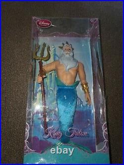 Disney Store Little Mermaid King Triton 12 Disney Princess Classic Collection