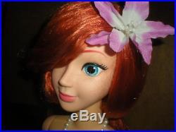 Disney Store Little Mermaid My Size Talking Ariel Doll 38 VHTF