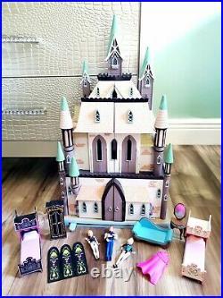Disney Store London Exclusive FROZEN CASTLE of Arendelle Playset doll house 21