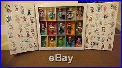 Disney Store Mini Animators Doll 1st Edition Set 2015