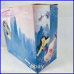Disney Store PRINCESS MULAN CAMPSITE PLAYSET Doll Mushu FIGURES NEW IN BOX NIB