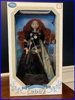 Disney Store Pixar Brave 17 Limited Edition Princess Merida Doll Irish Bo Arrow