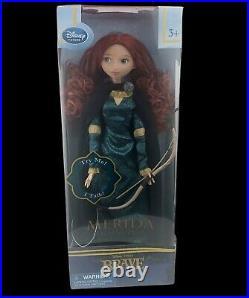 Disney Store Pixar Brave Merida Talking Doll Figure Toy Disney Princess 17 NEW