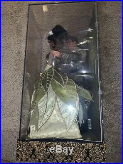 Disney Store Princess And The Frog Tiana Naveen Limited Edition Designer Doll