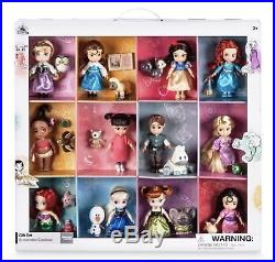 Disney Store Princess Animators Collection Deluxe Set 12 Dolls Figurines Gift