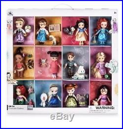 Disney Store Princess Animators Collection Deluxe Set 12 Dolls Figurines New