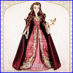 Disney Store Princess Belle 17 Limited Edition LE 5000 Doll Beauty Beast 2016
