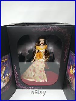 Disney Store Princess Belle Designer Premiere Limited Edition Doll of 4500