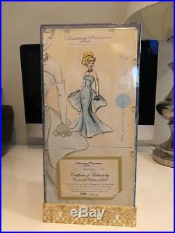 Disney Store Princess Designer Cinderella Doll Limited Edition BRAND NEW