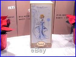 Disney Store Princess Designer Cinderella Doll Limited Edition NEW