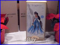 Disney Store Princess Designer Jasmine Doll Limited Edition NEW