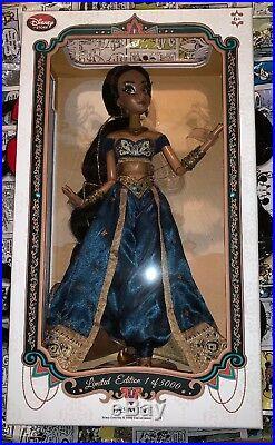 Disney Store Princess Jasmine 17 ALADDIN Limited Edition LE 5000 Doll
