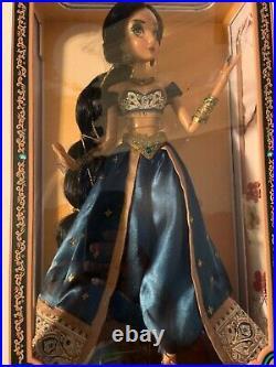 Disney Store Princess Jasmine 17 Limited Edition LE 5000 Doll Aladdin 2015 NIB