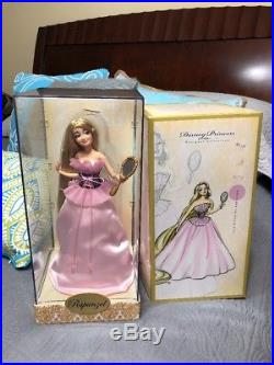 Disney Store Princess Rapunzel Designer Doll Limited Edition 4514/6000