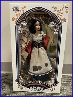 Disney Store Princess Snow White Rags 17 Limited Edition Doll 2017 LE 6500