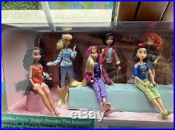 Disney Store Ralph Breaks the Internet Comfy Vanellope & Princess Doll Set 2018