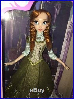 Disney Store Regal ANNA FROZEN 17 Limited Edition Designer Doll NEW NRFB Summer