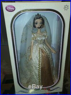 Disney Store Tangled Ever After Rapunzel 17 Wedding Doll Limited Edition