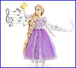 Disney Store Tangled Princess Rapunzel Deluxe Feature Singing Doll 16 NIB Light