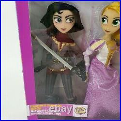 Disney Store Tangled Series Rapunzel & Cassandra Doll Set 2017 NEW RARE