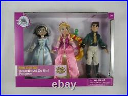 Disney Store Tangled the Series 3 Dolls Mini Set Figures NIP Cassandra Pascal