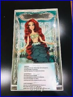 Disney Store The Little Mermaid Princess Ariel Limited Edition 17 designer Doll