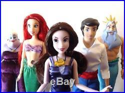 Disney Store The Little Mermaid Vanessa (Ursula Sea Witch) Doll, Deluxe Ed, Rare