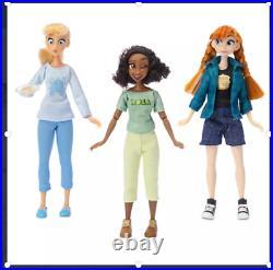 Disney Store Vanellope with''Comfy Princesses'' Dolls Gift Set Ralph Breaks