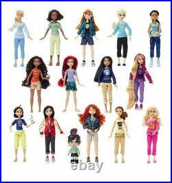 Disney Store Wreck Ralph Breaks the Internet Vanellope & Princesses Doll Set