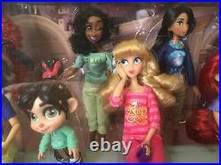 Disney Store Wreck it Ralph Breaks the Internet Princess Doll Set. Please read